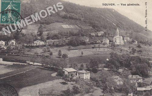 St Etienne de Crossey Tolvon
