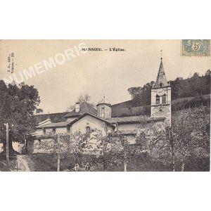 JG 185 Massieu l'église