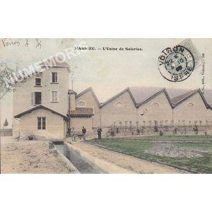JG 186 Massieu l'usine de soieries