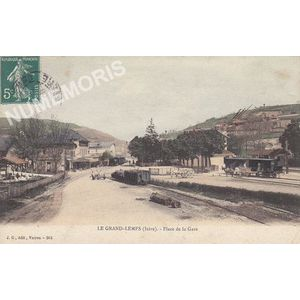 JG 264 le Grand-Lemps (Isère) place de la place