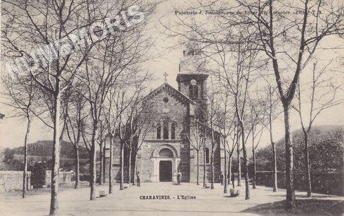 Charavines l'église