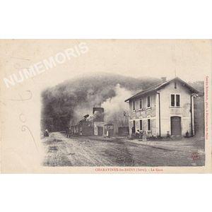 Charavines-les-Bains (Isère) la gare