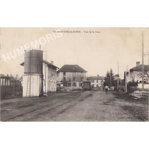 Charavines-les-Bains vue de la gare