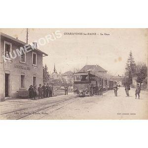 Charavines-les-Bains la gare
