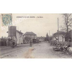 JG 077 Charavines-les-Bains la gare