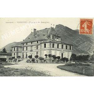 Dauphiné Voreppe chateau de Beauplan