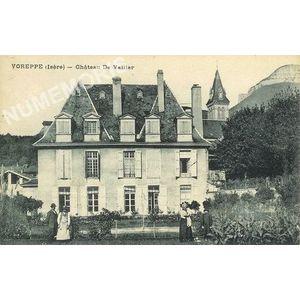 Voreppe isère - chateau de Vallier