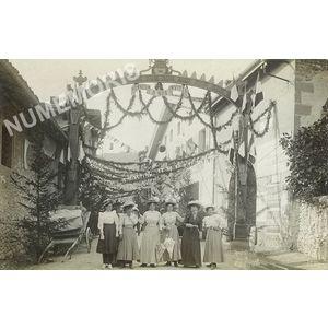 Fête à Voreppe 20 juin 1909