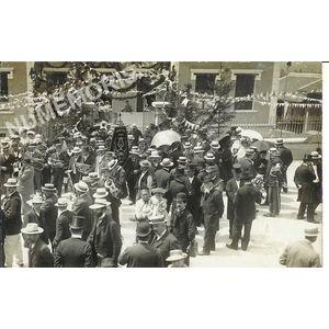 Fanfare - Inauguration école de filles du Chevalon 1909