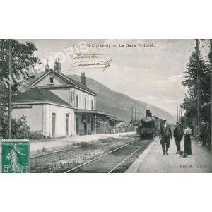 Voreppe isère - la gare P.L.M.