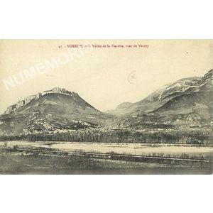 047 Voreppe et la vallée de la Placette vue de Veurey