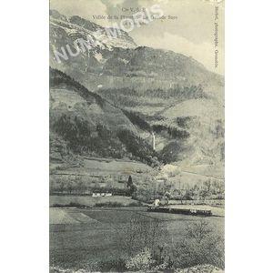 Cie VSB vallée de la Placette la Grande Sure la cascade