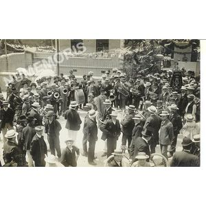 Ecole de filles du Chevalon - fanfare 1909