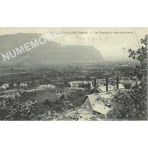 Le Chevalon (Isère) la plaine et ses environs