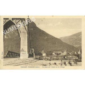 Le pont sur l'isère Voreppe