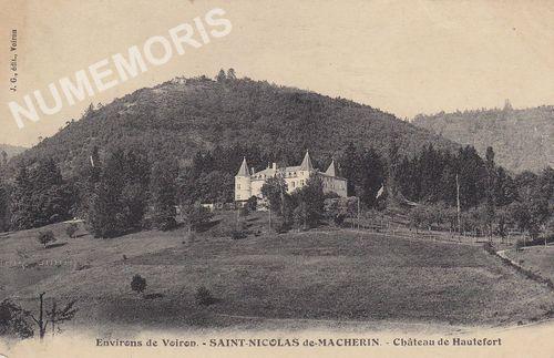 Saint Nicolas de Macherin cartes postales