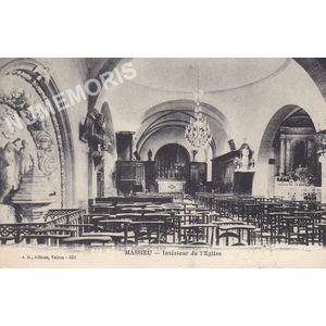 JG 553 Massieu intérieur de l'église