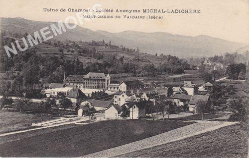 Saint Geoire en Valdaine cartes postales