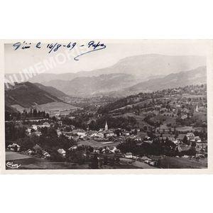 Saint-Geoire-en-Valdaine (Isère) vue générale ?