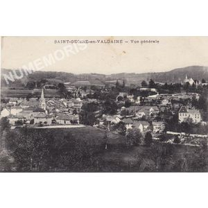 Saint-Geoire-en-Valdaine vue générale