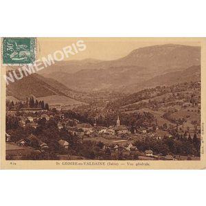 St-Geoire-en-Valdaine (Isère) vue générale