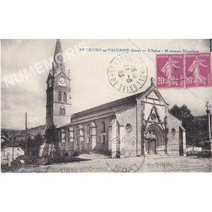 St-Geoire-en-Valdaine (Isère) l'église Monument historique