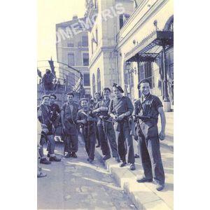 Résistants de Pommiers la Placette en 1945