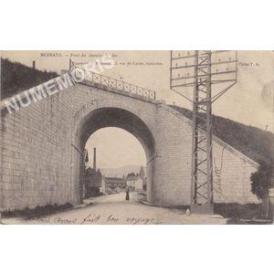Moirans Pont du chemin de fer