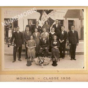 Moirans conscrits de 1936