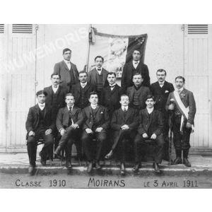 Moirans conscrits de 1910