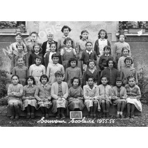 Moirans écoles de filles 1955-56
