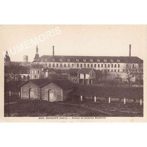 2605 Moirans (Isère) usines de soieries Martin