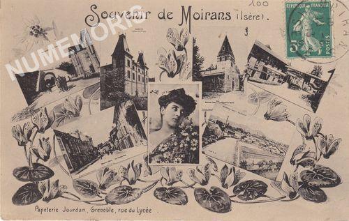 Moirans cartes postales