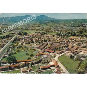 Moirans (Isère) CI 503-94 vue générale aérienne
