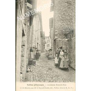Tullins Pittoresque ancienne Grande Rue