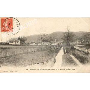 JG 258 Dauphiné Charavines-les-Bains la source de la Fures