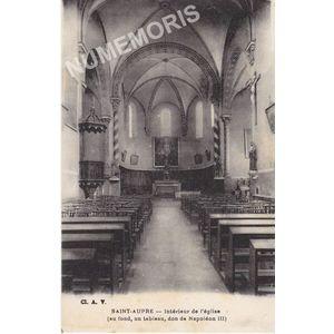 Saint-Aupre intérieur de l'église