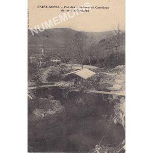 JG 008 Saint-Aupre une des nombreuses carrières de terre réfractaire