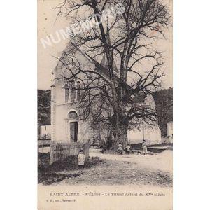 GD 009 Saint-Aupre l'église le tilleul datant du XVè siècle