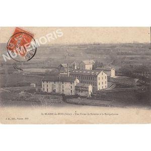 JG 279 St-Blaise-du-Buis (Isère) une usine de soieries à la Ravignhouse