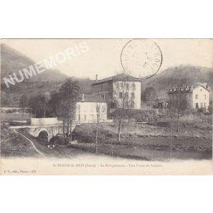 JG 278 St-Blaise-du-Buis (Isère) la Ravignhouse une usine de soieries