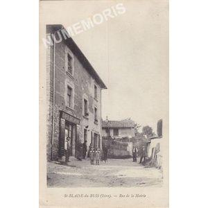 St-Blaise-du-Buis (Isère) rue de la Mairie