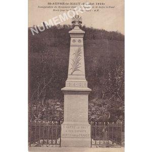 St-Aupre le Haut  (22 mai 1924)