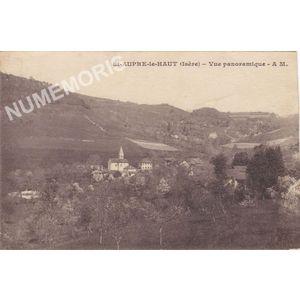 St-Aupre le Haut (Isère) vue panoramique AM