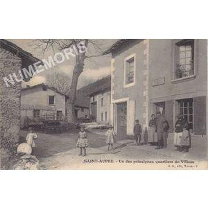 JG 002 Saint-Aupre un des principaux quartiers du village