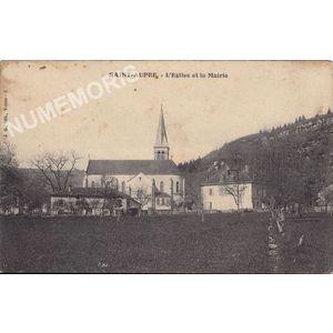 JG 003 Saint-Aupre l'église et la mairie