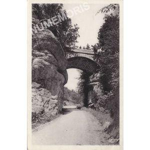 """Miribel-les-Echelles (Isère) le pont de """"Pierre Chave"""""""