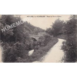 """Miribel-les-Echelles pont de """"Pierre Chave"""""""