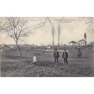 Dauphiné Charnècles (Isère) vue générale