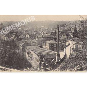 161 Voiron la fabrique de toile Villard Castelbon